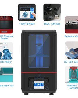 ANYCUBIC Photon Imprimante 3D UV LCD 3D Assemblée avec écran Tactile Couleur 2.8″ Impression Hors-Ligne Surface d'impression