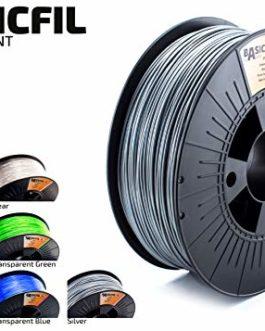 Basicfil PET 1.75mm, 1 kg filament pour imprimate 3D, Blanc