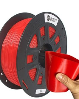 CCTREE 3D Printer TPU Flexible Filament 1.75MM For Creality CR-10S,1kg Spool (2.2lbs) Red