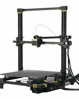 ANYCUBIC Chiron Imprimante 3D avec nivellement automatique et ultrabase Heatbed, volume d'impression géant 400 x 400 x 450 mm, convient pour les filaments de 1,75 mm tels que TPU, HIPS, PLA, ABS et autres pièces de rechange incluses