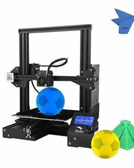 Creality 3D Ender-3 Imprimante 3D DIY Facile à Monter 220 * 220 * 250 mm Taille d'Impression de vie Impression de Soutien PLA, ABS, TPU