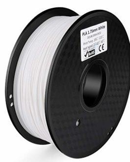 ELEGOO Filament pour imprimante 3D PLA, précision dimensionnelle +/- 0,03 mm, bobine de 1 kg, 1,75 mm
