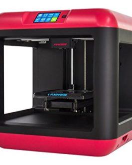 Flashforge Finder imprimante 3D Technologie FFF (Fused Filament Fabrication) WiFi – Imprimantes 3D (Plastique, LCD, 8,89 cm (3.5″), Noir, Rouge, 150 W, 115-230 V)