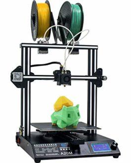 GEEETECH New A20M Imprimante 3D avec impression Mix-Colore, design double extrusion, Prusa I3 Montage rapide DIY-Kit