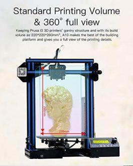GIANTARM Imprimante 3D Geeetech A10pro avec Grand Espace d'installation, Kit de Montage Rapide à Assembler, Support PLA 1.75mm.