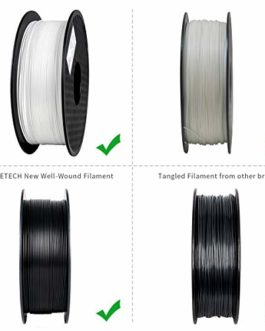 Geeetech PLA Filament 1.75mm 1KG Blanc/Argent/Brown/Water Blue/Apple Green