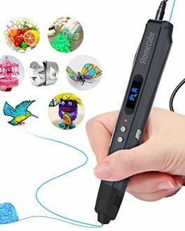 Homecube Stylo à Imprimé 3D, Impression 3D Stylo Capuchon en Silicone pour Empêcher l'utilisation d'un PLA / ABS