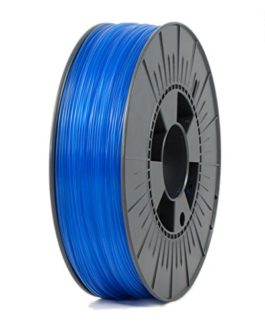 ICE Filaments ICEFIL1PET151 PET filament, 1.75mm, 0.75 kg, Transparent Bold Blue