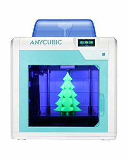 Imprimante 3D Anycubic 4Max Pro Dimensions d'impression 270 x 205 x 205 mm Silencieuse Arrêt automatique avec plan d'impression Ultrabase Extrudeur TITAN Filaments compatibles ABS TPU PLA