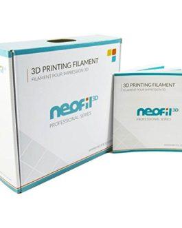 Neofil3D CARBON-P filament 3D, filament CARBON-P 1.75 mm, 0.75kg, Gris Foncé