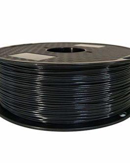 OMAS Filament d'imprimante 3D noire de filament d'ASA 1.75mm bobine de 1kg 2.2 résistante aux UV de LBS