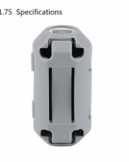 Peanutaoc Pièces de l'imprimante 3D consommables décapant 1.75/2.85/3.0mm de dépoussiéreur d'alimentation de Filament d'ABS PETG pour l'imprimante 3D