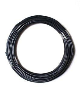 Quistal ABS 3D Printer Filament, Rouleaux de 10 mètres Filaments 3D ABS 1.75mm pour stylo 3D ou imprimante 3D couleur Noir