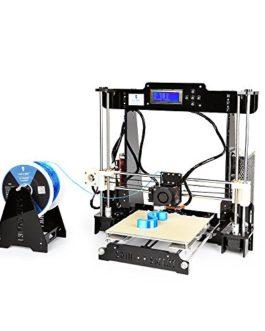 SainSmart A8 Prusa i3DIYImprimante 3D de bureau haute précision, auto-assemblage