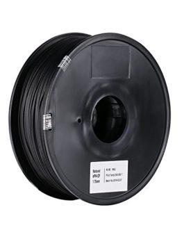 SainSmart Bobine de filament en fibre de carbone pour imprimante 3D Noir 1,75 mm 1,2 kg