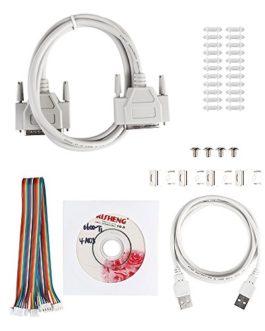 SainSmart CNC Kit de 4Axis with tb6600Moteur Driver, paralle Interface Breakout Board, NEMA23270oz dans CNC Stepper moteur and 24V Power Supply (Kit de 3)