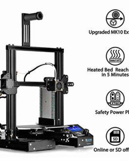 SainSmart x Creality Ender-3 Prusa i3 Imprimante 3D pour usage domestique 8,7 x 8,7 x 9,8″