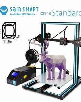 SainSmart x Creality Série CR-10 Aluminium Semi-assemblé 3D avec Filament supplémentaire, Grande Taille d'impression 300x300x400mm