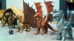 200 figurines Dungeons & Dragon imprimées en 3D