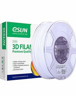 eSUN Filament PETG 1.75mm, Imprimante 3D Filament PETG, Précision Dimensionnelle +/- 0.05mm, 2.2 LBS (1KG) Bobine Pour Imprimante 3D
