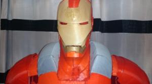 L'armure d'Iron Man imprimé en 3D, taille réelle – Myron 3D