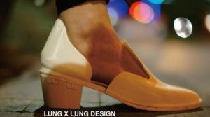Lung x Lung  Crée des chaussures imprimés en 3D avec des talons interchangeables
