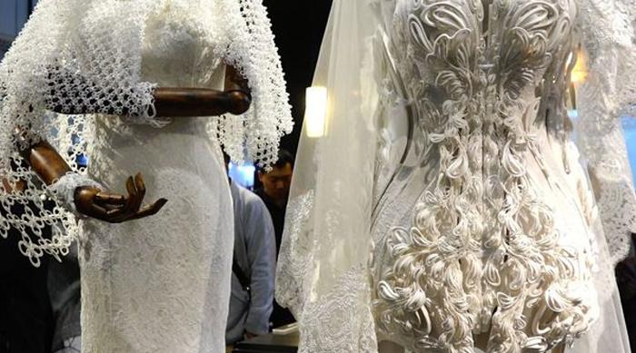 L'arrivée des imprimantes 3D pour les robes de mariées