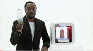 Will.I .am se lance dans l'imprimante 3D avec  EKOCYCLE