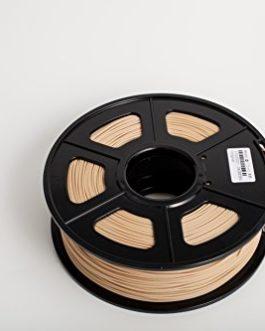 FengWings Imprimante 3D Filament WOOD, 1.75 mm 1KG, Tolérance 0.02mm – Qualité premium