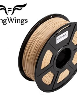 FengWings Imprimante 3D Filament WOOD, 1.75 mm 1KG, Tolérance 0.02mm – Qualité premium