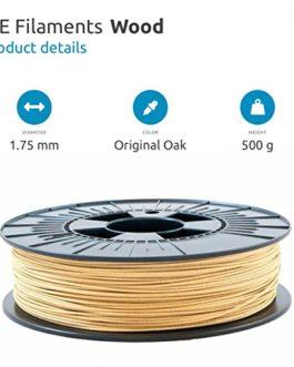 ICE FILAMENTS Fillament pour imprimante 3D, bois 1.75mm., Original Oak, 0.50kg