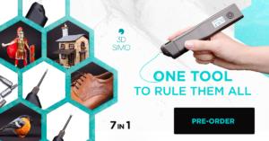 3Dsimo Multipro – Le seul outil pour les gouverner tous (7 en 1)