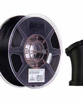 eSUN Fibre de Carbone Filament Nylon 1.75mm, Imprimante 3D Filament ePA-CF, Précision Dimensionnelle +/- 0.05mm, 2.2 LBS (1KG) Bobine Pour Imprimante 3D, Naturel