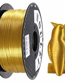 Noulei Filament PLA pour imprimante 3D 1.75 mm, Shiny 3D Printing Filament Silk GOLD SILVER COPPER BRONZE Antique Gold Bobine 1kg