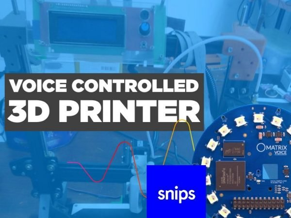 Imprimante 3D à commande vocale @Raspberry_Pi