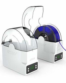 eSUN eBox Boîte de Rangement de Filament d'impression 3D, Déshydratation Pesant et Gardant le Filament Sec pour PLA, ABS, PETG, PVA, Filament Nylon de Imprimante 3D