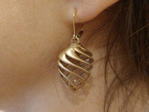 # 3DImprimez vos propres boucles d'oreilles en spirale #WearableWednesday