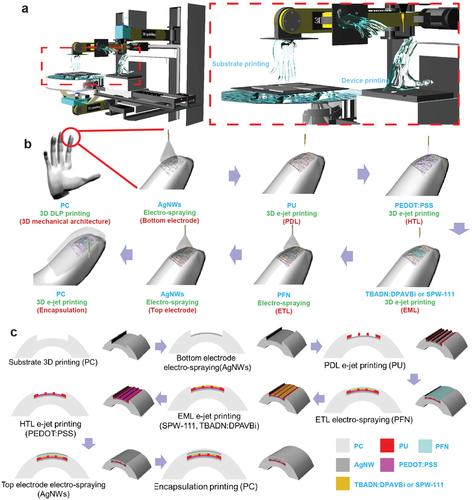 Corée: écrans transparents complexes d'impression 3D