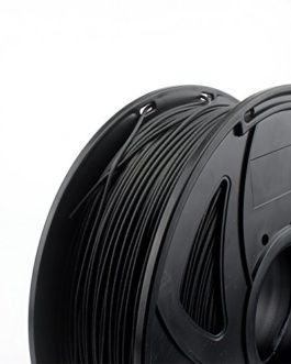 CREOZONE Filament Erweitert Carbon Fiber PLA TPU 3 in 1 (All Black) 1.75mm 1kg/PCS (2.2LBS) for impression 3d (CARBON TPU PLA)