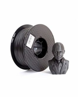 Fibre De Carbone Filament 1.75mm / Filament d'impression 3D / PLA + Filament 1.75mm / 1.75mm Diamètre De Fil (Multicolore en Option) 1Kg (Color : Black 2.85mm)