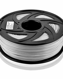 S SIENOC 1,75 mm 3D Printer imprimeur Composite HIPS Filament 1KG Bobine de fil plastique (HIPS Gris)