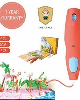 WEISTEK Stylo d'impression 3D, Stylo Doodler innovant à Basse température pour Enfants et Adultes, avec Filament biodégradable en PCL, sûr et Non Toxique, DIY Votre Propre Art & Artisanat