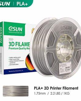 eSUN PLA+ Imprimante 3D Filament, PLA Plus Filament 1.75 mm, Précision Dimensionnelle +/- 0.03 mm, 2.2 LBS (1KG) Bobine, 3D Impression Filament Pour Imprimante 3D