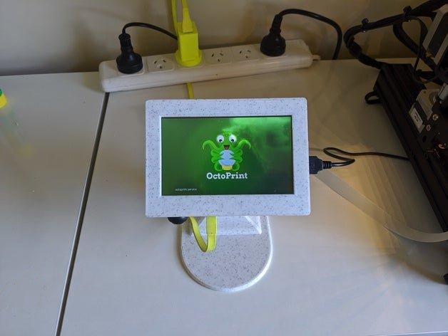 Étui pour Raspberry Pi 3B avec écran tactile 5 ″