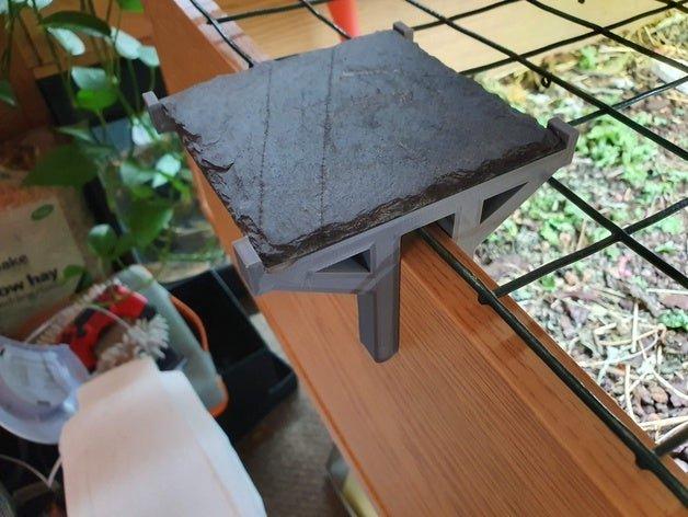Porte-dessous en ardoise pour table tortue