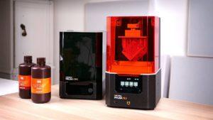 Le MK3 des imprimantes SLA en résine? Test du Prusa SL1 et CW1!