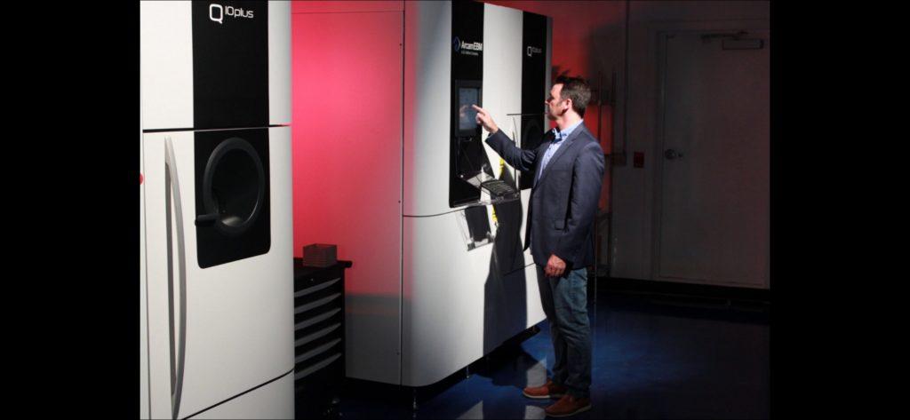 Amplify Additive adopte l'EBM d'Arcam pour la production orthopédique