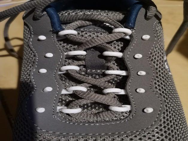 dentelle de chaussure ajustée