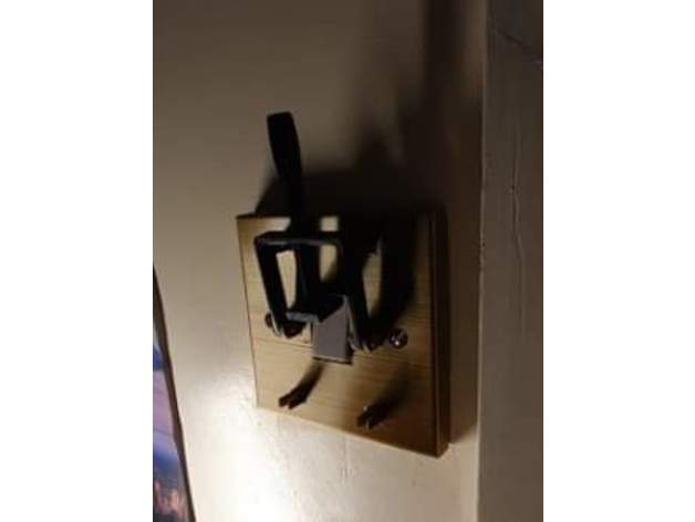 Interrupteur d'éclairage Mad Scientist – Version UK