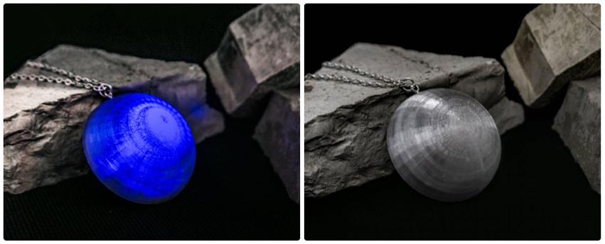 # 3DImprimez un collier pour éclairer l'obscurité #WearableWednesday